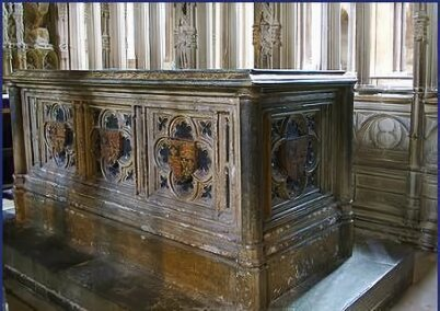 Tomb of Arthur Tudor at Worcester Cathedral