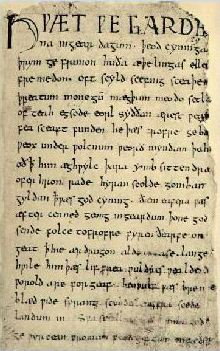 who was beowulf written by