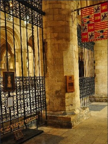 Tomb of Catherine of Aragon at Peterborough Cathedral