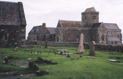 Cemetery at Iona Abbey