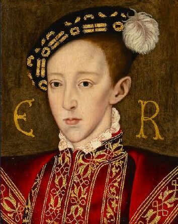 Edward Vi The Only Legitimate Son Of Henry Viii By His Third Wife Jane Seymour Was Born At Hampton Court Palace After A Difficult And Protracted Labour