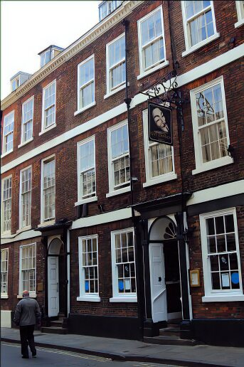Guy Fawkes birthplace, York