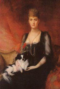 Alexandra of Denmark, wife of Edward VII