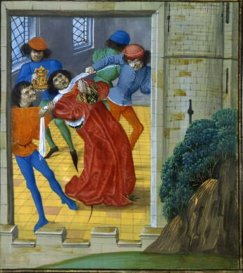The murder of Thomas of Woodstock, Duke of Gloucester