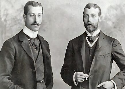 Prince Albert Victor and Prince George