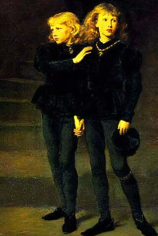 King Edward V and his brother Richard