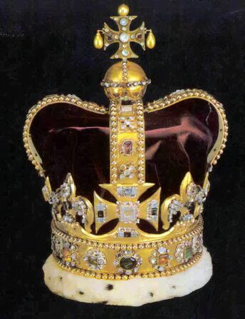 The crown has been used in the coronation of every British Monarch