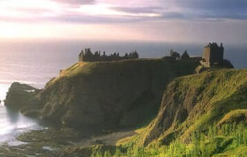 The Dark Age fortress of Dunnottar