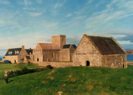 The monastery of Iona