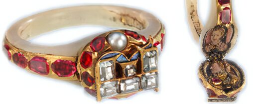 Elizabeth I's Locket Ring