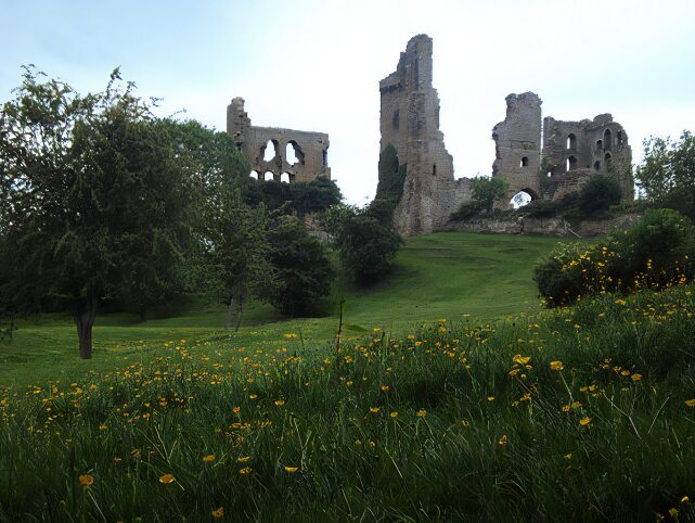 Sheriff Hutton Castle, Yorkshire