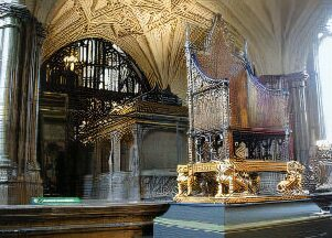Tomb of Henry V at Westminster Abbey