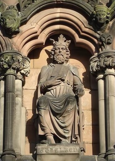 Ethelred I from Lichfield Cathedral