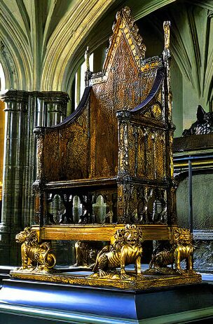 Coronation Chair, Westminster Abbey