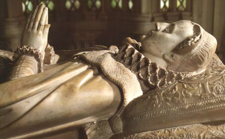 The tomb of Mary, Queen of Scots