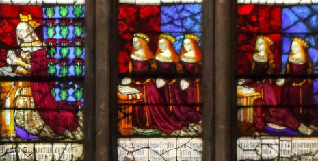 Elizabeth Woodville and her daughters