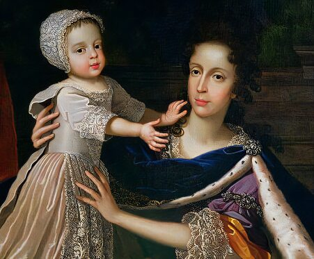 Mary of Modena and James Francis Edward Stuart