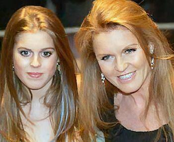 Princess Bea & mother Sarah Ferguson