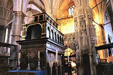 Edward the Confessor, tomb at Westminster Abbey