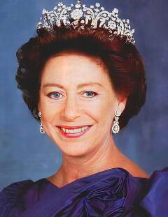 English Monarchs - Kings and Queens of England - Princess Margaret.