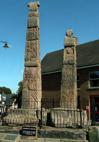 Anglo-Saxon Crosses at Sandbach