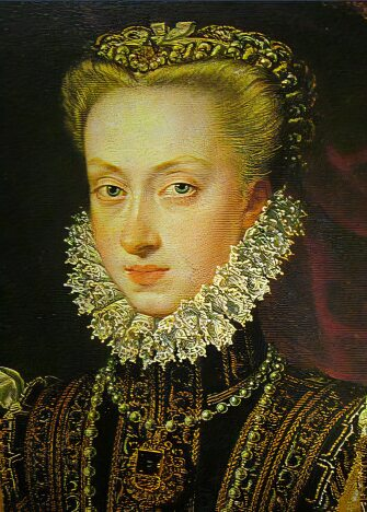 Anna of Austria, wife of Phillip II