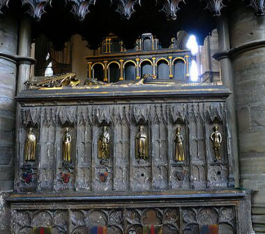 Tomb of Edward III and Phillipa of Hainault