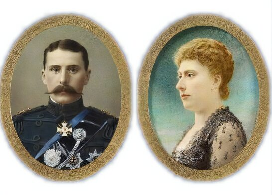 Prince Henry and Princess Beatrice of Battenberg