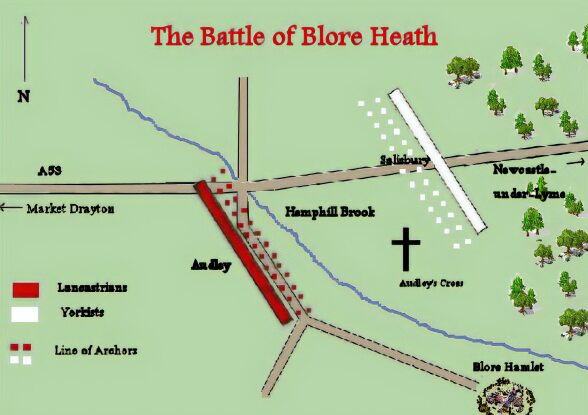 The Battle Of Blore Heath