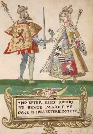 Robert the Bruce and Elizabeth de Burgh