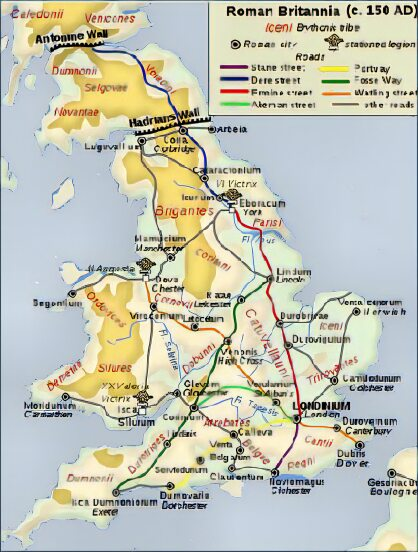 Overview: Roman Britain, 43 - 410 AD