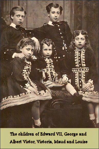 The children of Edward VII