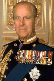 Phillip, Duke of Edinburgh.