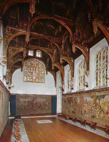 Hampton Court Palace, the Great Hall
