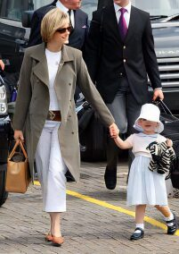Sophie with her daughter, Lady Louise Mountbatten-Windsor